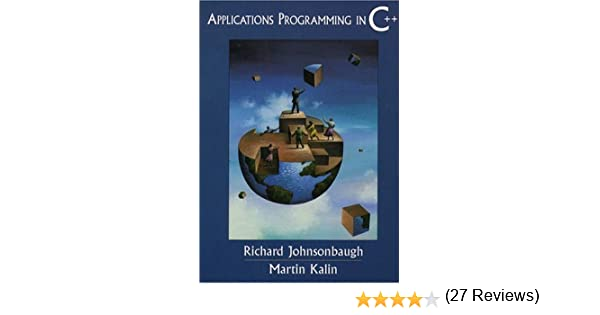 Amazon applications programming in c 9780137489633 amazon applications programming in c 9780137489633 richard johnsonbaugh martin kalin books fandeluxe Image collections