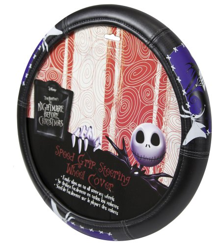 The Nightmare Before Christmas Accessories (Plasticolor 006718R01 'Nightmare Before Christmas Graveyard' Steering Wheel)