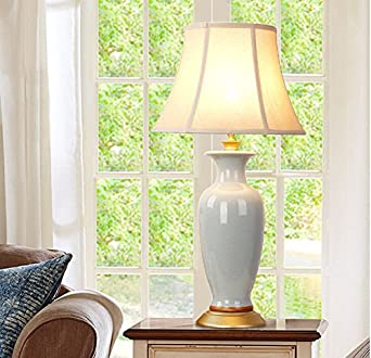 FDH cerámica Crack lámpara de mesa salón cuartos de cama Studio ...