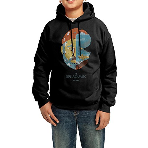 Proro The Life Aquatic With Steve Zissou Long Sleeve Round Neck Cute Sweatshirts Shirt For Teenager