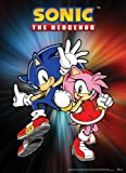 Great Eastern Entertainment Sonic The Hedgehog Sonic and Amy Wall Scroll, 33 by 44-Inch