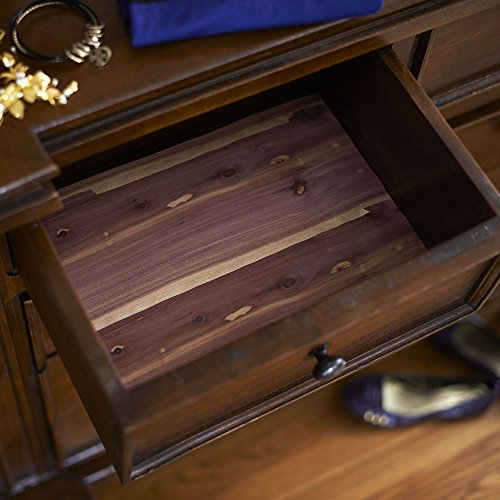 cedarfresh cedar drawer and closet shelf liner 6 feet by import it all. Black Bedroom Furniture Sets. Home Design Ideas