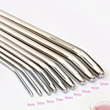 H185 Smooth Head Stainless Steel Catheters Urethral Dilators Urethral Sound Sounding Penis Plug Stretching Sounds Male Sex Toys 8mm
