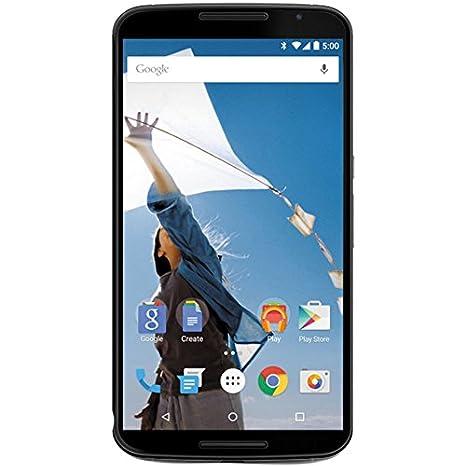 0e01d46f01d Motorola Nexus 6 Unlocked Cellphone, 32GB, Midnight Blue (U.S. Warranty) ( Discontinued