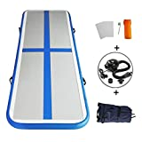 MELCHEF Inflatable Tumbling Mat Air Track Mat Gymnastics Mat Air Track Cheap Air Track Mat Gymnastics Air Track Target Mat Air Track Floor Mats for Home Use/Training/Cheerleading/Beach/Park