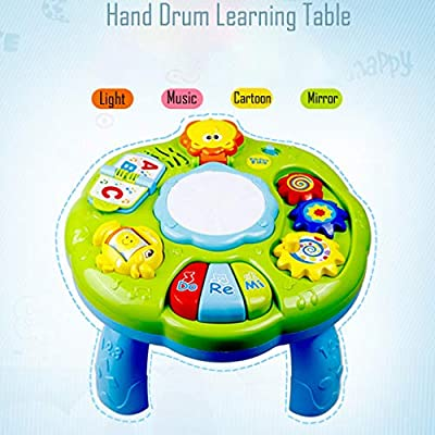 Pratcgoods Music Study Table Baby Toys - Children's Electronic Education Toys: Home & Kitchen