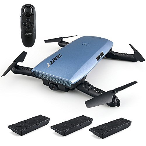 Goolsky JJR/C H47 RC Drone with Camera 720P HD Live Video WiFi FPV 2.4GHz 4CH 6-Axis Gyro RC Selfie Quadcopter with Altitude Hold,G-Sensor Control and Headless Mode Include 3 Batteries (3 Batteries)