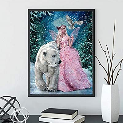 DCIDBEI Diamond Painting Kits for Adults Abstract Painting Diamond Painting Rhinestone Embroidery Cross Stitch Kits Supply Arts Craft Canvas Wall Decor Stickers Home Decor 12x16 inches