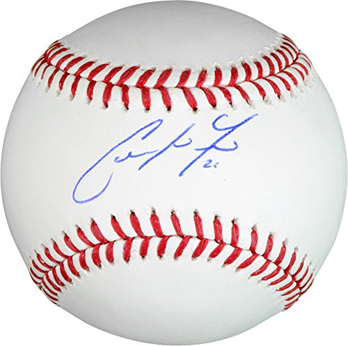 Autographed Brewers - Christian Yelich Milwaukee Brewers Autographed Baseball - Fanatics Authentic Certified - Autographed Baseballs