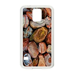 Customized Agate Layers of Agate S5 Cover Case, Agate Layers of Agate Custom Phone Case for Samsung Galaxy S5 I9600 at Lzzcase