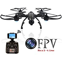 JXD 509W 5.8G WIFI Real-time Transmission Drone with HD Camera High Hold Mode RC Quadcopter with 2 Extra Batteries