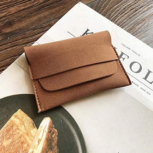 WUSYO Wallet Cute Münze Geldbeutel Mini Geld Tasche Matt Weibliche Münztüte, Gelb