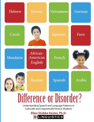 Difference or Disorder: Understanding Speech and Language Patterns in Culturally and Linguistically Diverse Students by Bilinguistics Speech and Language Services