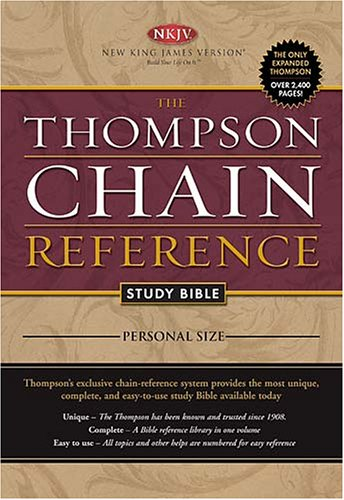 The Thompson Chain Reference Study Bible: New King James Version, Full Color, Personal Size