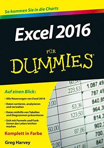 Excel 2016 für Dummies
