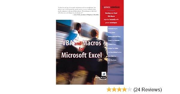 Amazon vba and macros for microsoft excel ebook tracy syrstad amazon vba and macros for microsoft excel ebook tracy syrstad bill jelen kindle store fandeluxe Images