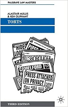 Torts (Palgrave Law Masters)
