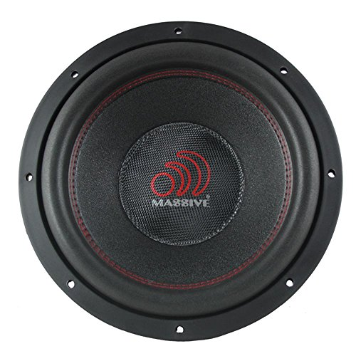 Car Subwoofer by Massive Audio TOROX122 - Bass and Sound Quality Woofer for Trucks, Cars, Jeeps - 12 Inch Car Audio 2,000 Watt Competition Subwoofer (Dual 2 Ohm - 3 Inch Voice Coil). Sold As Each