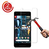 Google Pixel 2 Screen Protector, [2-Pack] Auideas Case Friendly Ultra Clear Anti-Scratch Bubble Free Tempered Glass Screen Protector with Lifetime Replacement Warranty