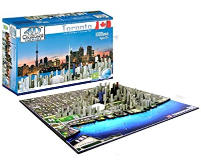 4d Toronto Cityscape Time Puzzle from 4D Cityscape