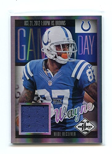 new styles 99051 30a84 2013 Limited Game Day Materials #11 Reggie Wayne Colts ...