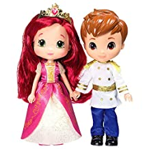 The Bridge Direct, Strawberry Shortcake, Berryella and Prince Charming Dolls, 6 Inches