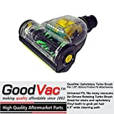 GoodVac Air Driven Pet Upholstery Turbo Brush fits Kirby,...