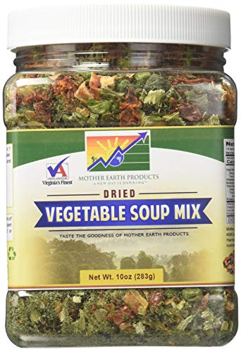 Mixed Vegetable Soup - Mother Earth Products Dried Vegetable Soup Mix, 10oz (283g)