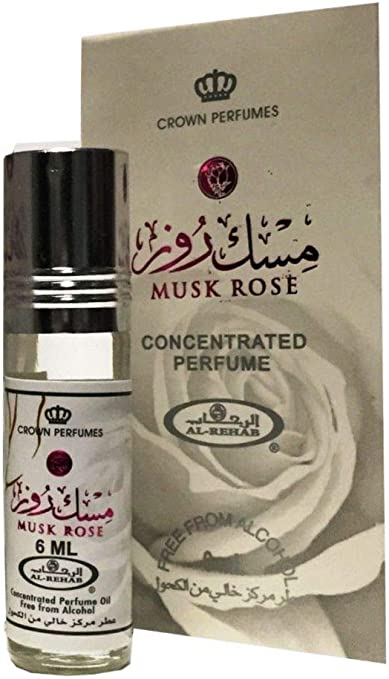 Musk Rose by Al Rehab Concentrated Roll