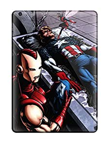 Sanp On Case Cover Protector For Ipad Air (marvel)