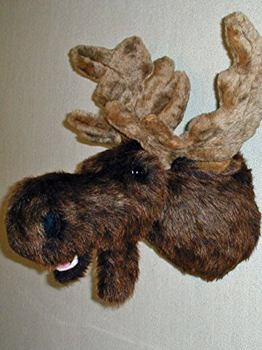 "Plush Moose Head""Leon"" X-Large Moose Trophy Mount made in Maine"