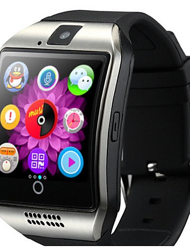 Amazon.com: Smart Watch Q18 with Touch Screen Camera for ...