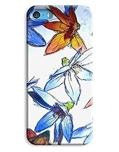 Lmf DIY phone caseHand Drawn Watercolor Flowers Case for your iphone 4/4sLmf DIY phone case