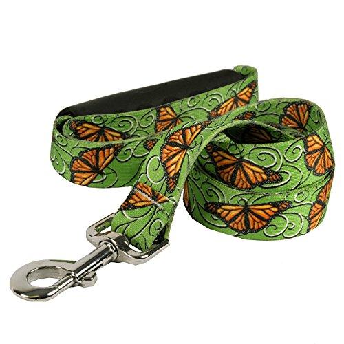 Yellow Dog Design Monarch Swirl EZ-Grip Dog Leash with Comfort Handle, Large-1