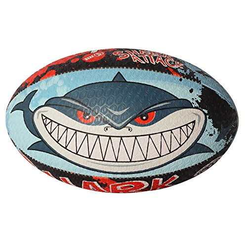 Optimum Training Rugby Ball (MINI, SHARK ATTACK)
