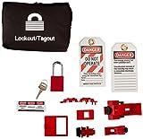 Brady 95538 Basic Breaker Lockout Kit with Lock