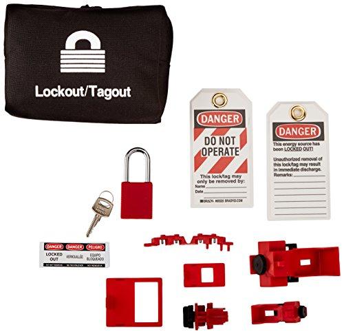 Brady 95538 Basic Breaker Lockout Kit with Lock by Brady (Image #1)