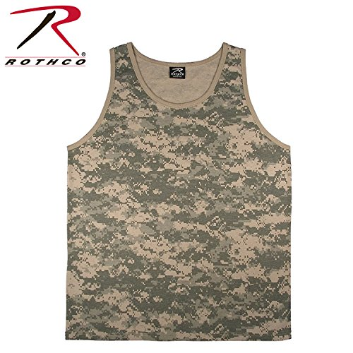 - Rothco Tank Top, ACU Digital Camo, Large