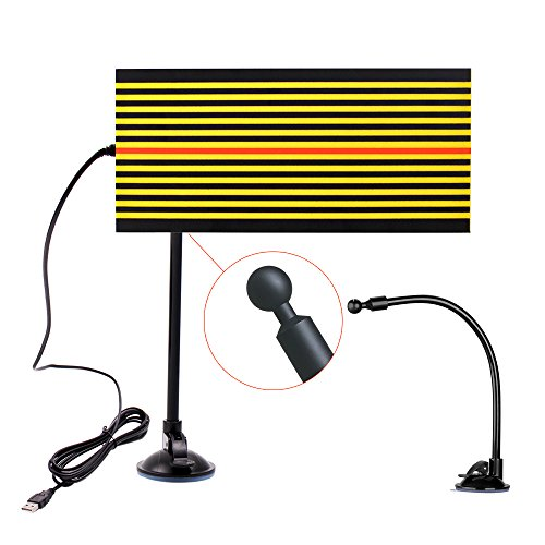 Line Board (Mookis PDR Tools LED Line Board, Upgraded Adjustable Holder Stripe Reflector Board Paintless Dent Removal Repair Too)