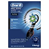 Oral-B Pro 3000 Electric Toothbrush Smartseries With Bluetooth Connectivity, Black Edition (Powered By Braun)