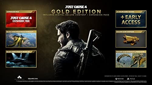 Just Cause 4 Gold Edition - Xbox One [Importación inglesa]: Amazon ...