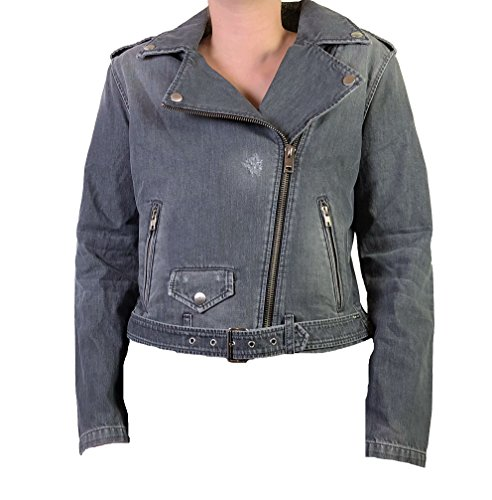 Diesel Womens Jeans Jacket R-Lupus Grey (Diesel Denim Jackets)