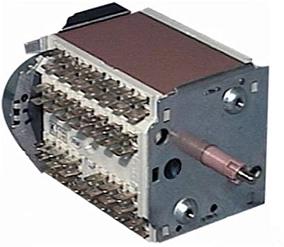 Whirlpool 481928218348 Crouzet - Temporizador para lavadora (número de pieza original)