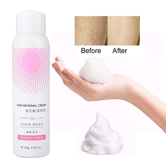 120g Spray para depilación, Mousse Espuma Spray para depilación ...