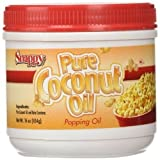 Snappy Popcorn Supplies, Colored Coconut Oil, 1 Pound by Snappy Popcorn