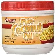 Snappy Popcorn Supplies, Colored Coconut Oil, 16 Oz
