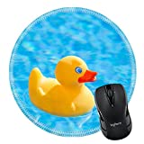 MSD Mousepad Round Mouse Pad/Mat 27461598 little yellow - Best Reviews Guide