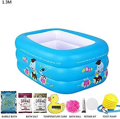 Arena piscina hinchable – Bañera divertida doble de plástico para ...