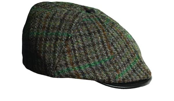 a18034b82fa057 Stetson Men's Harris Tweed 8/4 Cap, Grey, XL at Amazon Men's Clothing  store: Newsboy Caps