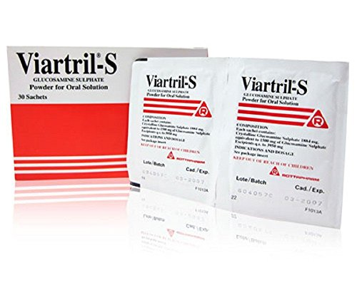 Valerate Ointment (Viartril-S (Glucosamine) 1500 mg 30 sachets. 1package)